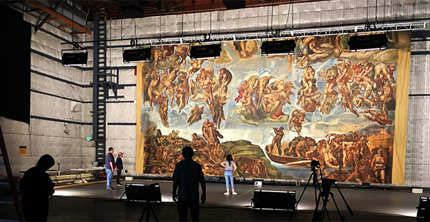 Hollywood's Sistine Chapel- Sacred Sets for Stage & Screen at McNay Art Museum in San Antonio September 10 2020
