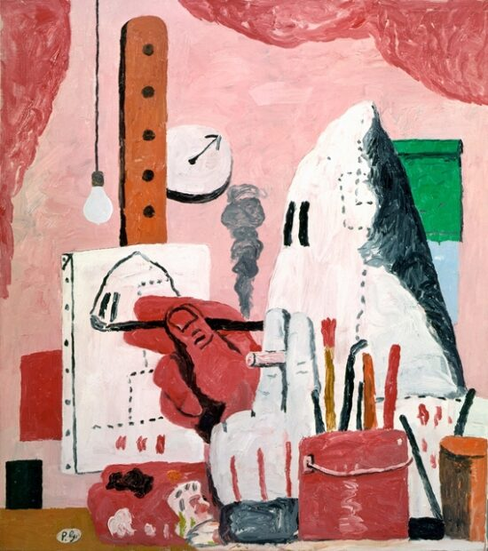Philip Guston-The Studio, 1969.Via Artsy