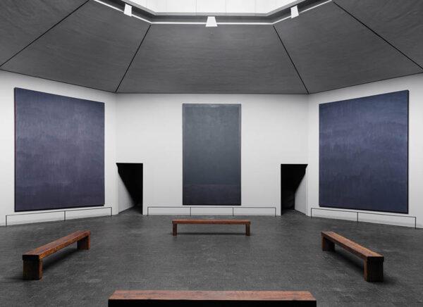 Rothko Chapel interior, photo credit-BRYAN SCHUTMAAT for WSJ. Magazine