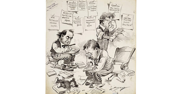 Running for Office- Candidates, Campaigns, and the Cartoons of Clifford Berryman at the Wichita Falls Museum of Art in Wichita Falls September 26 2020