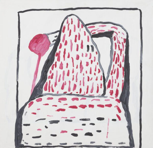 Untitled, Philip Guston 1969, Acrylic on panel Unframed: 30 × 32 in. (76.2 × 81.28 cm) Collection of the Modern Art Museum of Fort Worth, Gift of Musa and Tom Mayer. Object number: 2003.3