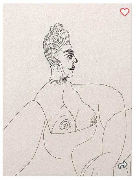 Lot 475 Pablo Ruiz Picasso, Spain (1881-1973)-1,300-dollar-bid as of wednesday