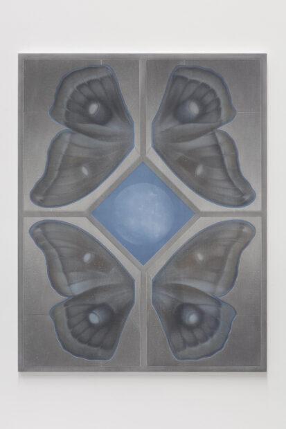 Theodora Allen, From the Watchtower (Double Moth no. 4), 2020