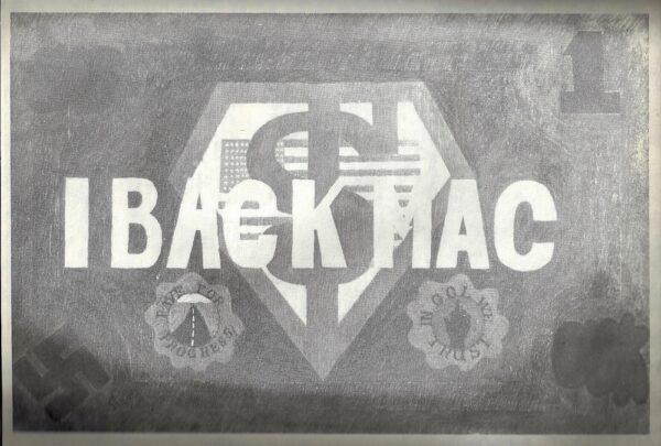 Felipe Reyes (b. 1944), Fast Buckaroo Politics c. 1972