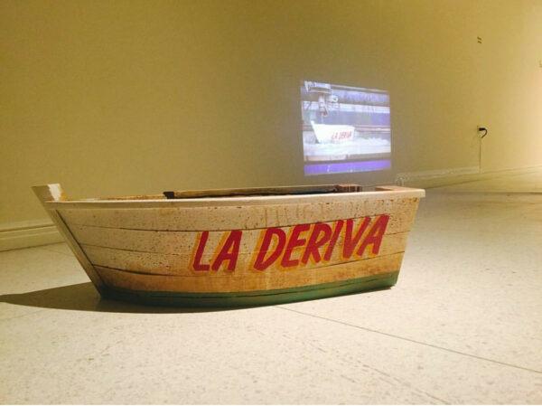 Mauricio Saenz, Drift, 2015. Video and installation.
