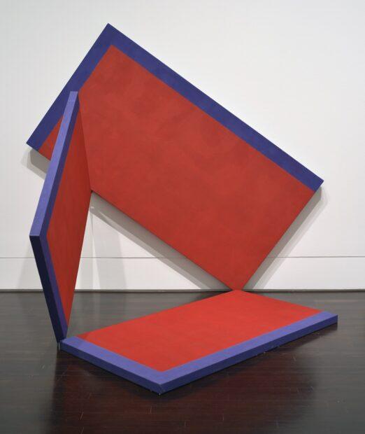 Alejandro Puente, Estructura (3 panels) [Structure (3 panels)], 1966