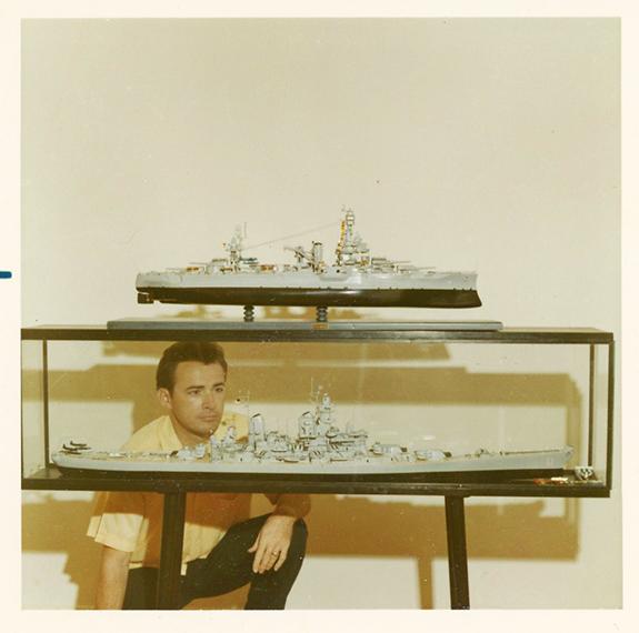Bob Ivy in studio 1969