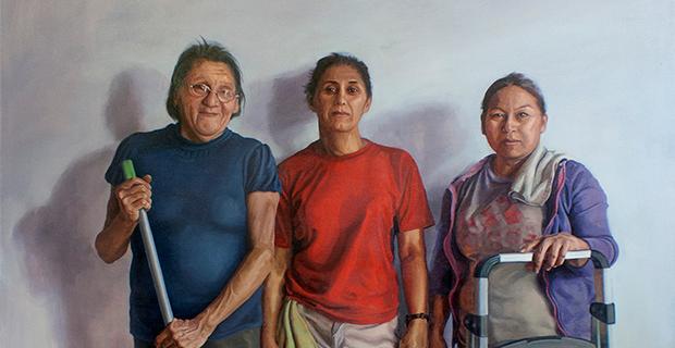 Carlos Donjuan / Arely Morales at the Gallery at UTA in Arlington October 19 2020