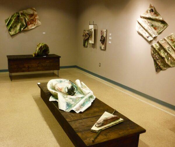 Installation view of Jami White's solo exhibition