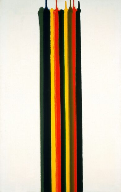 Morris Louis, Water-Shot, 1961