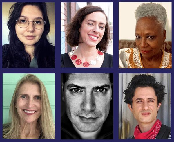 RYHO artists, From Top Left- Jessica Fuentes, Sara Cardona, Vicki Meek,.Jimmie Hudson, Can Turkyilmaz, and Daniel Avazpourjpg