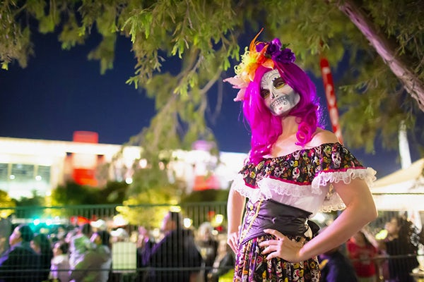 Xfinity Día de Los Muertos celebration at Discovery Green