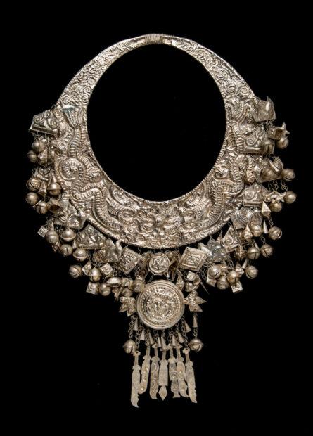 Necklace,China, (Miao), 20th century.
