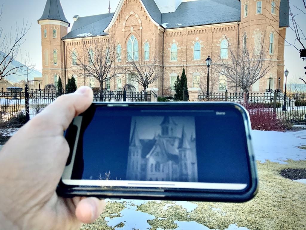 Texas Tech Professor and artist David Lindsay's Popwalk art location app.