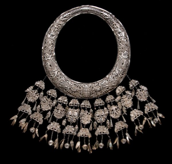 Necklace,China (Miao), 20th century.