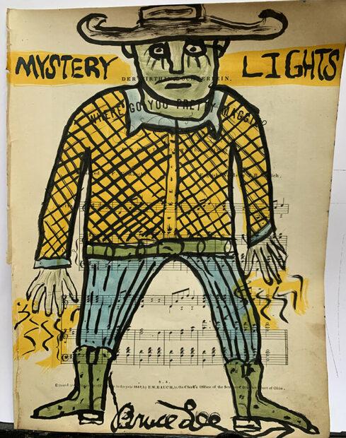 waxahachie artist Bruce Lee Webb