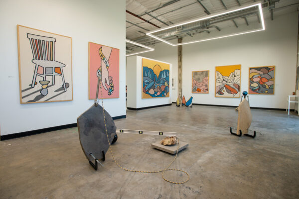 Tom Jean Webb at Ivester Contemporary in Austin. Installation view.