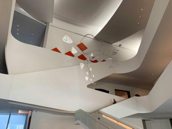 MFAH kinder building lobby