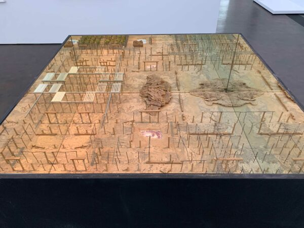 Border, Mapping, Witness art show at the MFAH Kinder Building