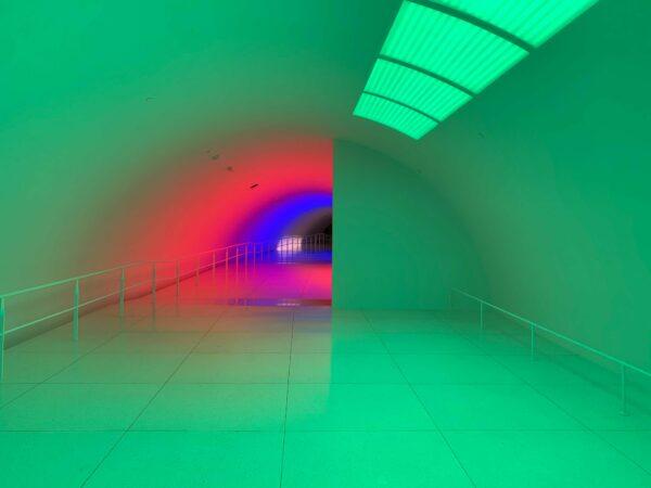 MFAH light tunnel