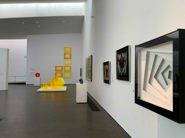 Color into Light exhibition at the MFAH kinder building