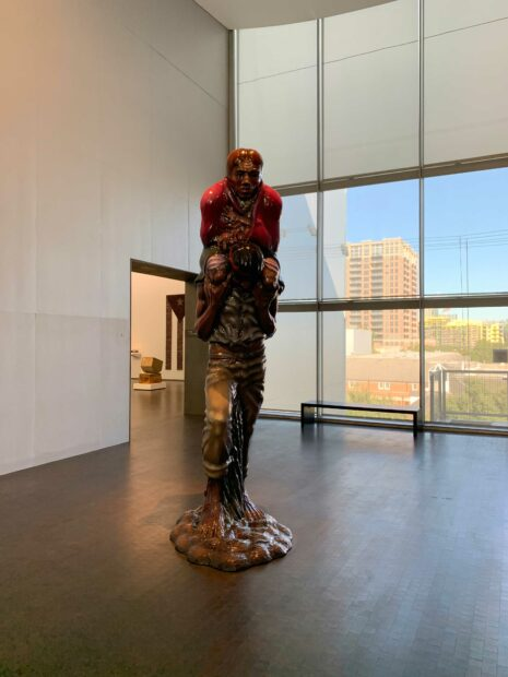 Luis Jimenez sculpture MFAH