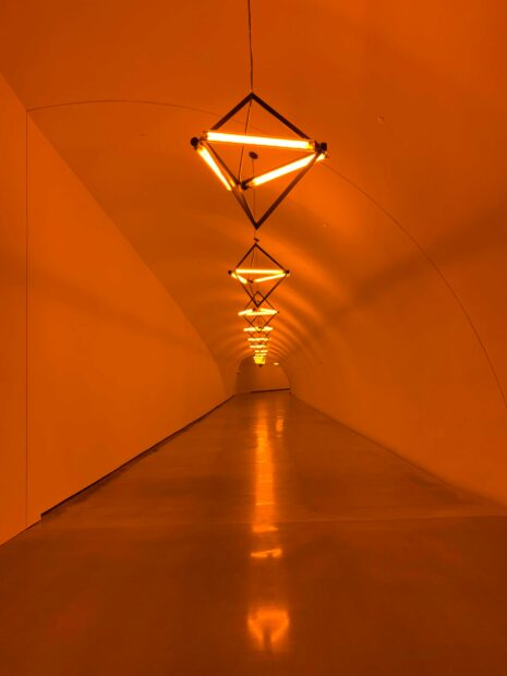 MFAH light tunnel