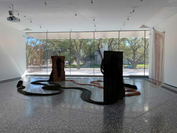 Tunga sculpture MFAH