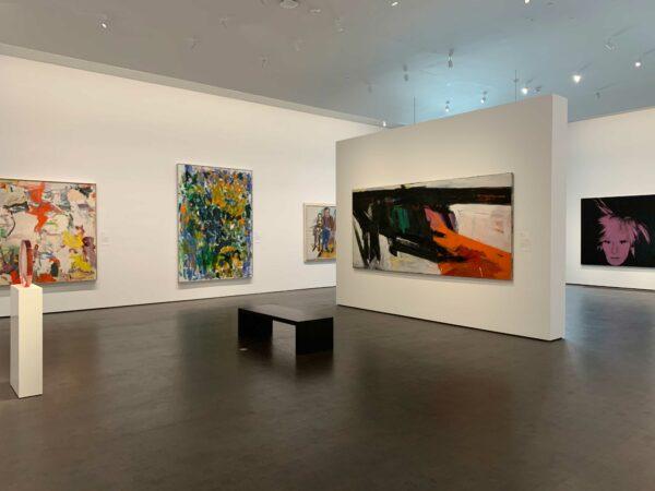 Modern art galleries at MFAH Kinder building