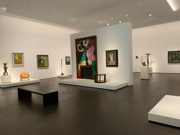 Modern art galleries at MFAH Kinder building