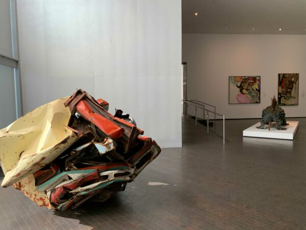 John Chamberlain at the Museum of Fine Arts, Houston