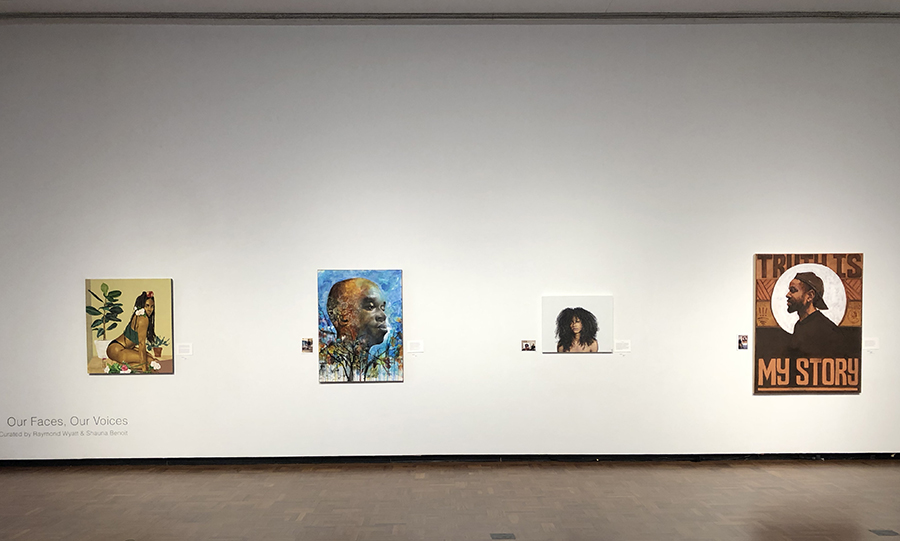 Our Faces, Our Voices, Installation View