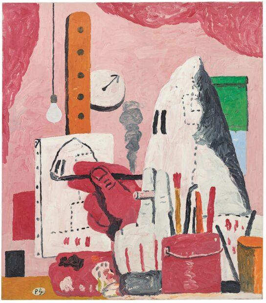 Philip Guston The studio painting