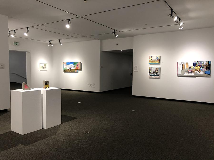 RaulRene Gonzalez installation view