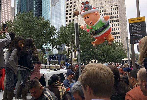 Thanksgiving Parade, Houston, 2018
