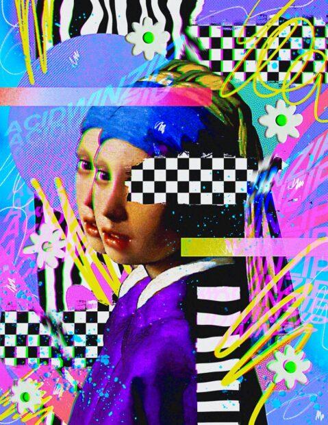 Acidwinzip san antonio artist print