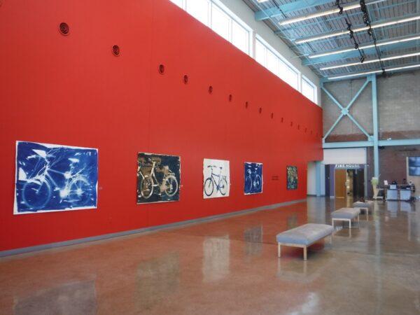 Installation view of Carol Flueckiger's solo exhibition