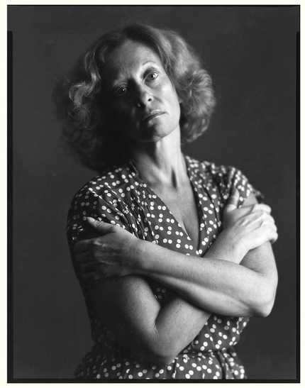 Barbara Rose, 1981. Photo: © Timothy Greenfield-Sanders, via Artforum Magazine.