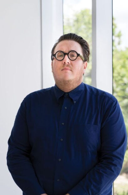 Tommy Ralph Pace, the Orange Show's new Executive Director.