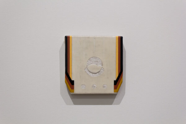 "Bret Slater, ""Erfurt"", acrylic on linen, at Liliana Bloch Gallery in Dallas"