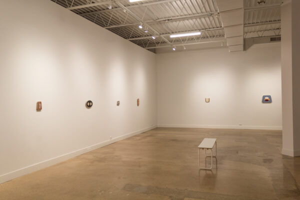 Bret Slater- Regen, installation view, at Liliana Bloch Gallery in Dallas