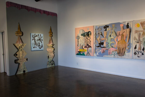 Jozsef Csato, Diary of Open Secrets, Installation view, at Galleri Urbane in Dallas
