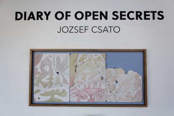 Jozsef Csato, Diary of Open Secrets, on view at Galleri Urbane in Dallas