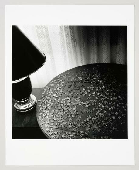 Kristin Capp Puzzle, Palacios Hotel, Texas photograph