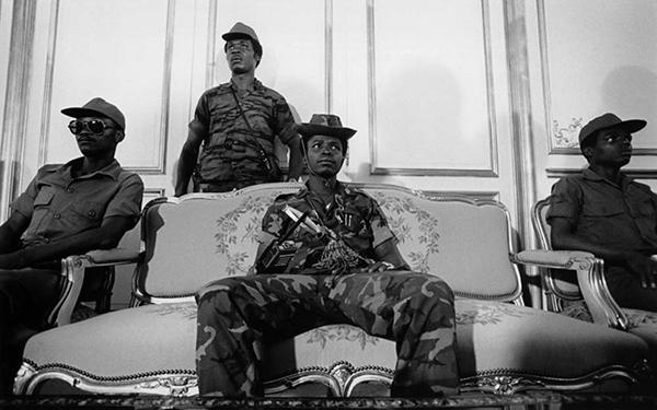 Liberian Coup leader Samuel Doe, 1980