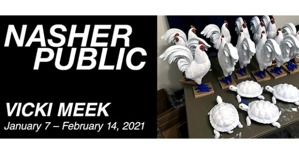 Nasher Public- Vicki Meek at the Nasher Sculpture Center in Dallas January 7 2021