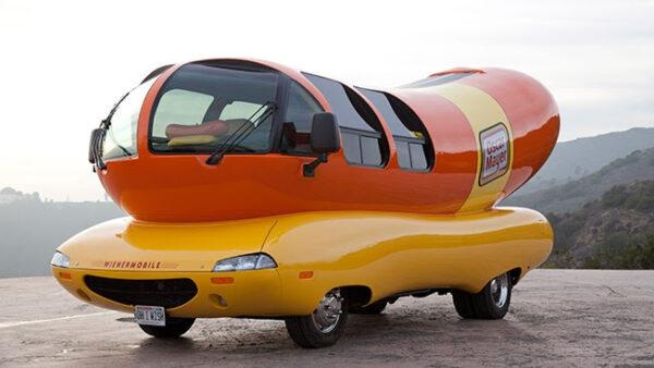 Oscar Mayer Wienermobile visits Texas