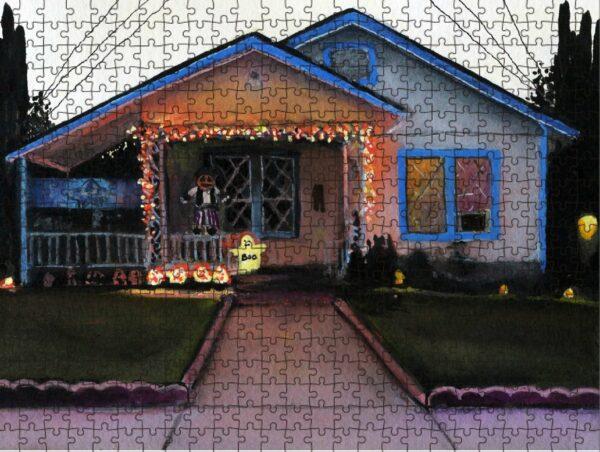 Texas Artist Ana Fernandez Puzzle
