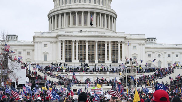 Capitol building January 6, 2021