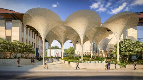 The Blanton's Architectural Design by Snøhetta